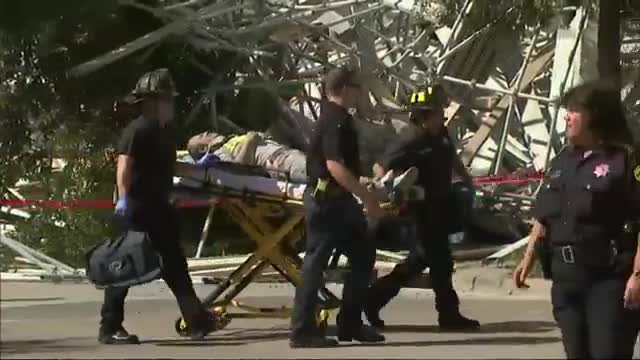 6 Rescued After Scaffolding Collapse in Houston