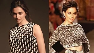 WOW ! Deepika Padukone Finally REACTS To Kangana's Constant Taunts On Her