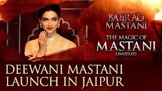 Deepika Padukone Launches Deewani Mastani in Jaipur | Bajirao Mastani