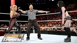 Natalya vs. Paige: WWE SmackDown, October 29, 2015