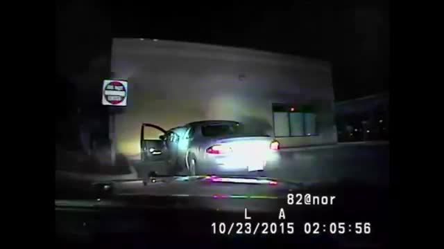 Suspect Hits Officer With Car During Stop