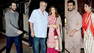 Shilpa Shetty, Sridevi's Karwa Chauth At Anil Kapoor's Residence (UNCUT)
