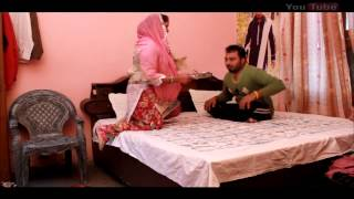 Punjabi Funny Video    Husband/Wife by Mani Kular    Chuu Pataka Thaa
