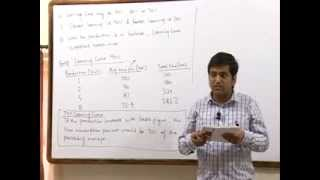 CA Final Advanced Management Accounting (OR) Learning Curve