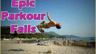 Ultimate Parkour Funny Fails Compilation || Freerunning Fail Compilation