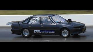 NOFAVRS PRO AUTOMOTIVE RACING V8 COMMODORE 9.75 @ 139 MPH SYDNEY DRAGWAY