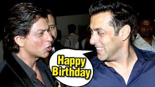 Salman Khan's Birthday Message To Shah Rukh Khan - MUST WATCH