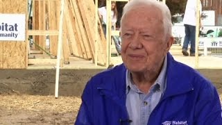 Jimmy Carter Discusses Cancer Diagnosis