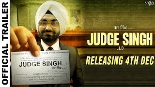 Judge Singh LLB | Official Trailer | Ravinder Grewal | Latest Punjabi Movies 2015