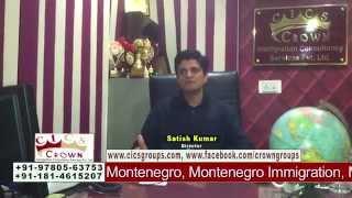 Montenegro Settlement, Montenegro Visa, Montenegro TRC, Montenegro Europe