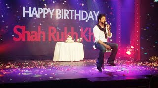 Shahrukh Khan Celebrates His 50th Birthday With His Family  And Fans