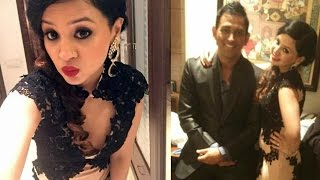 MS Dhoni Wife Sakshi Singh Dhoni Hot At Harbhajan Singh Wedding Reception