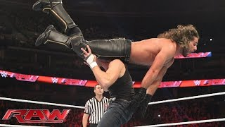 Team Reigns vs. Team Rollins - 5-on-5 Survivor Series Elimination Match: WWE Raw, Nov. 2, 2015