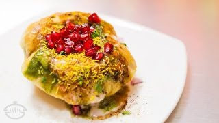Puri Chaat - Easy Indian Snack Recipes | Diwali Recipes