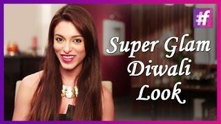 Super Glam Diwali Look | Makeup Tips (Happy Diwali)