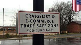 Craigslist stories: police set up safe exchange zones to stop Craigslist deals going bad