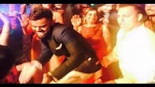 Harbhajan Reception Yuvraj & Kohli Funny Dance