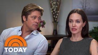 Angelina Jolie, Brad Pitt Discuss Marriage, New Film, Cancer Fight