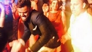 Virat Kohli Punjabi Dance At Harbhajan Singh Wedding Reception!