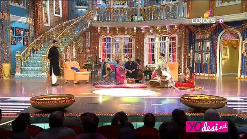 Comedy Nights with Kapil - Salman Khan promotes Prem Ratan Dhan Payo - 8th Nov 2015 - Part 4/5