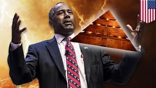Ben Carson theories: Pyramids were used to store grain, not pharaohs' tombs