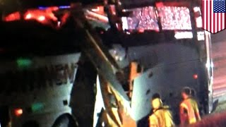 Bus accident: bus crash in Arkansas kills six migrant workers