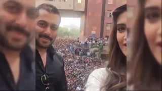 Salman & Sonam in Amity University H Block