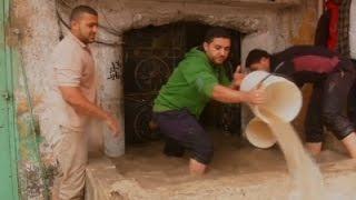Heavy Rains Cause Flooding in Gaza, Israel