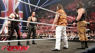 The Undertaker and Demon Kane reemerge to unleash hell upon The Wyatt Family: WWE Raw, November 9, 2015