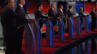 Candidates Debate Russia, Economy, Future of GOP