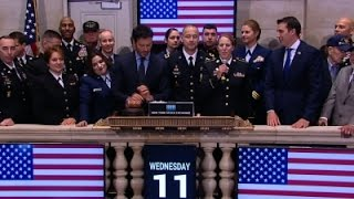 Honoring Veterans On Wall Street