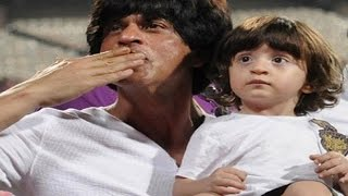 Shahrukh Khan shows Abram's REACTION on Dilwale | Must Watch VIDEO