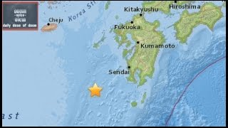 Japan: 7.0 M Earthquake rocks Japan