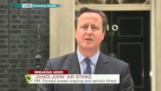 David Cameron on drone killing of 'Jihadi John'