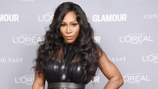 Nail of the Day: SERENA WILLIAMS' Glittery Nail Art
