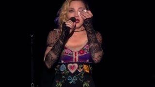 Madonna Addresses Paris Attacks During Concert