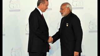 PM Modi arrives at the opening ceremony of G20 2015 in Antalya, Turkey