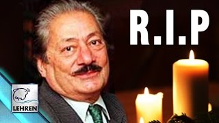 Veteran Actor Saeed Jaffrey PASSES AWAY!!