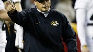Mizzou Football Coach Steps Down for Health