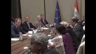 PM meets presidents of European Council, Commission