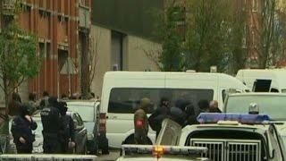 Police raid underway in Belgium