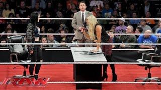 Divas Championship Contract Signing: WWE Raw, November 16, 2015