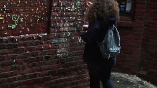After Cleaning, Seattle 'Gum Wall' Returns