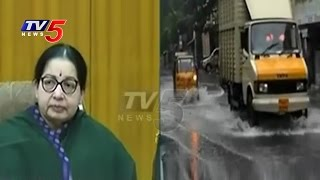 Heavy Floods In Tamil Nadu | CM Jayalalithaa Review Meet With Ministers & Officers