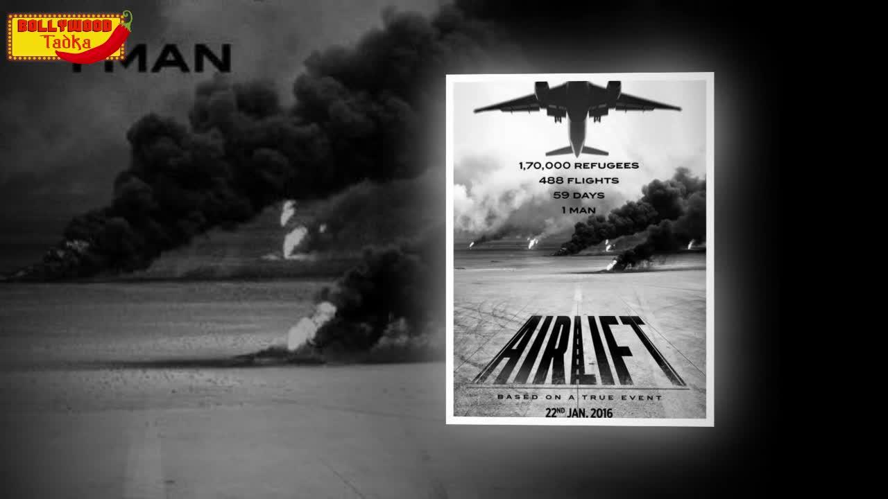Airlift poster 2 | Akshay Kumar Looks DASHING As Ranjit Kaitiyal