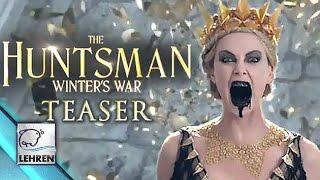 'The Huntsman: Winter's War' Official TEASER   Chris Hemsworth   RELEASED
