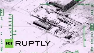 Syria: Russian jets pound ISIS oil refinery in Syria