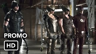 """The Flash 2x08 Promo """"Legends of Today"""" (HD) Crossover Event"""