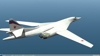 Russian Air Force uses TU-160, the world's largest military aircraft, against ISIS in Syria