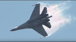 STUNNING: Russian Air Force Su-35 Spectacular Demo